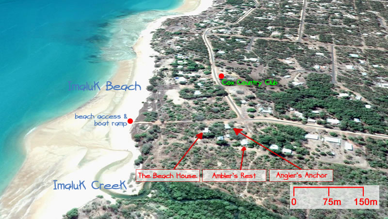 Wagait Beach Holiday Houses location